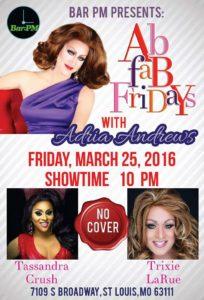 Show Ad   Bar PM (St. Louis, Missouri)   3/25/2016