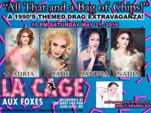 Show Ad | The Grey Fox (St. Louis, Missouri) | 5/21/2016