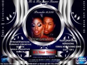 Show Ad   Mr. and Miss Dumarr International Newcomer   Revolution Night Club (Orlando, Florida)   12/15/2013