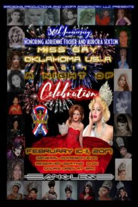 Show Ad | Miss Gay Oklahoma USofA | Angles (Oklahoma City, Oklahoma) | 2/10-2/11/2017
