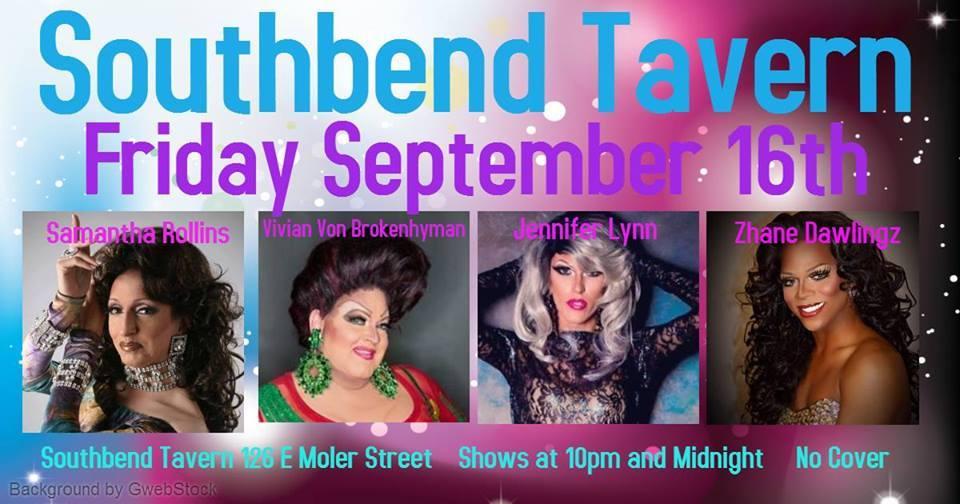 Show Ad   Southbend Tavern (Columbus, Ohio)   9/16/2016