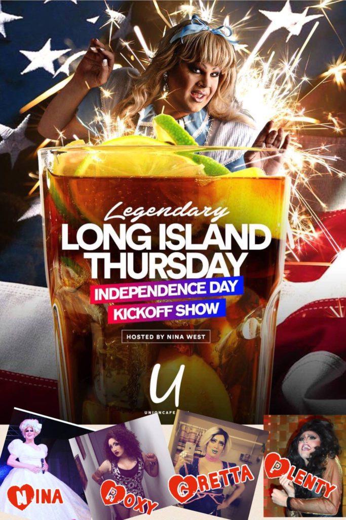 Show Ad | Legendary Long Island Thursday | Union Cafe (Columbus, Ohio) | 6/30/2016