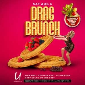 Show Ad   Drag Brunch   Union Cafe (Columbus, Ohio)   8/6/2016