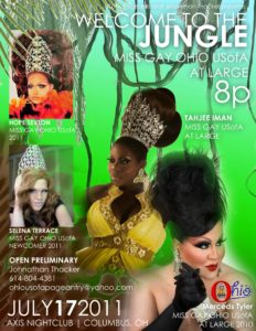 Show Ad   Miss Gay Ohio USofA at Large   Axis Night Club (Columbus, Ohio)   7/17/2011