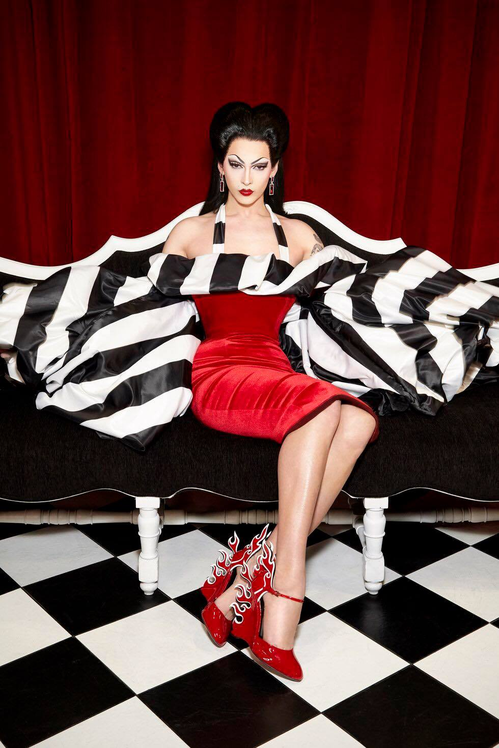Violet Chachki - Photo by Albert Sanchez and Pedro Zalba