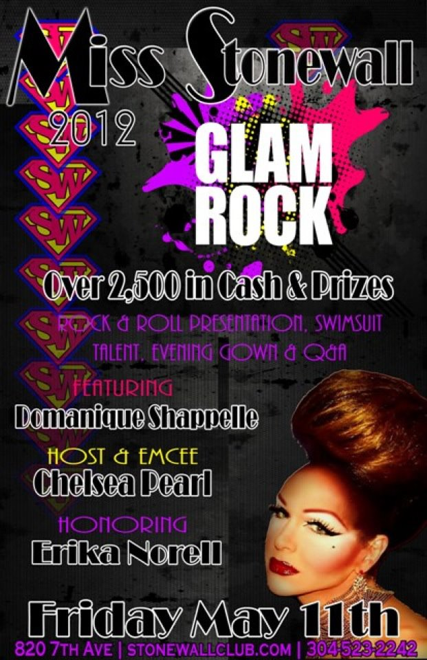 Show Ad | Miss Stonewall | Stonewall Club (Huntington, West Virginia) | 5/11/2012