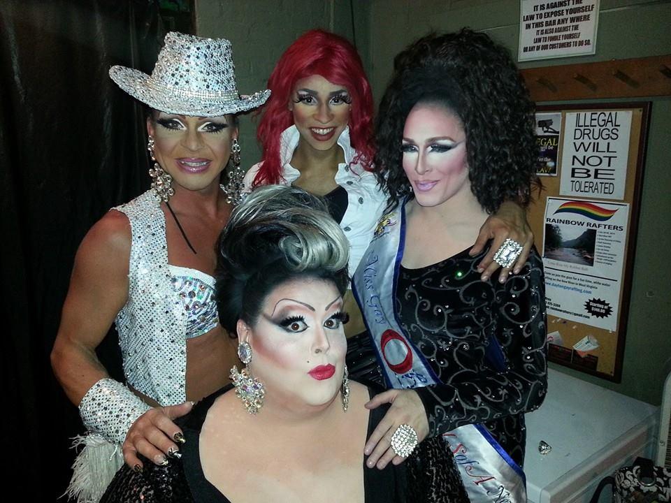 Maria Garrison, Sabrina Caprice Heartt, Mari Jane and Beth Amphetamine