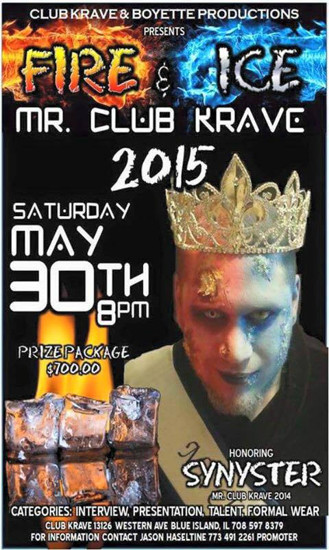 Show Ad | Club Krave (Blue Island, Illinois) | 5/30/2015