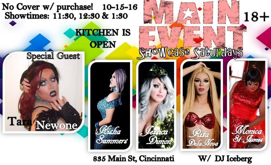 Show Ad | Main Event (Cincinnati, Ohio) | 10/15/2016