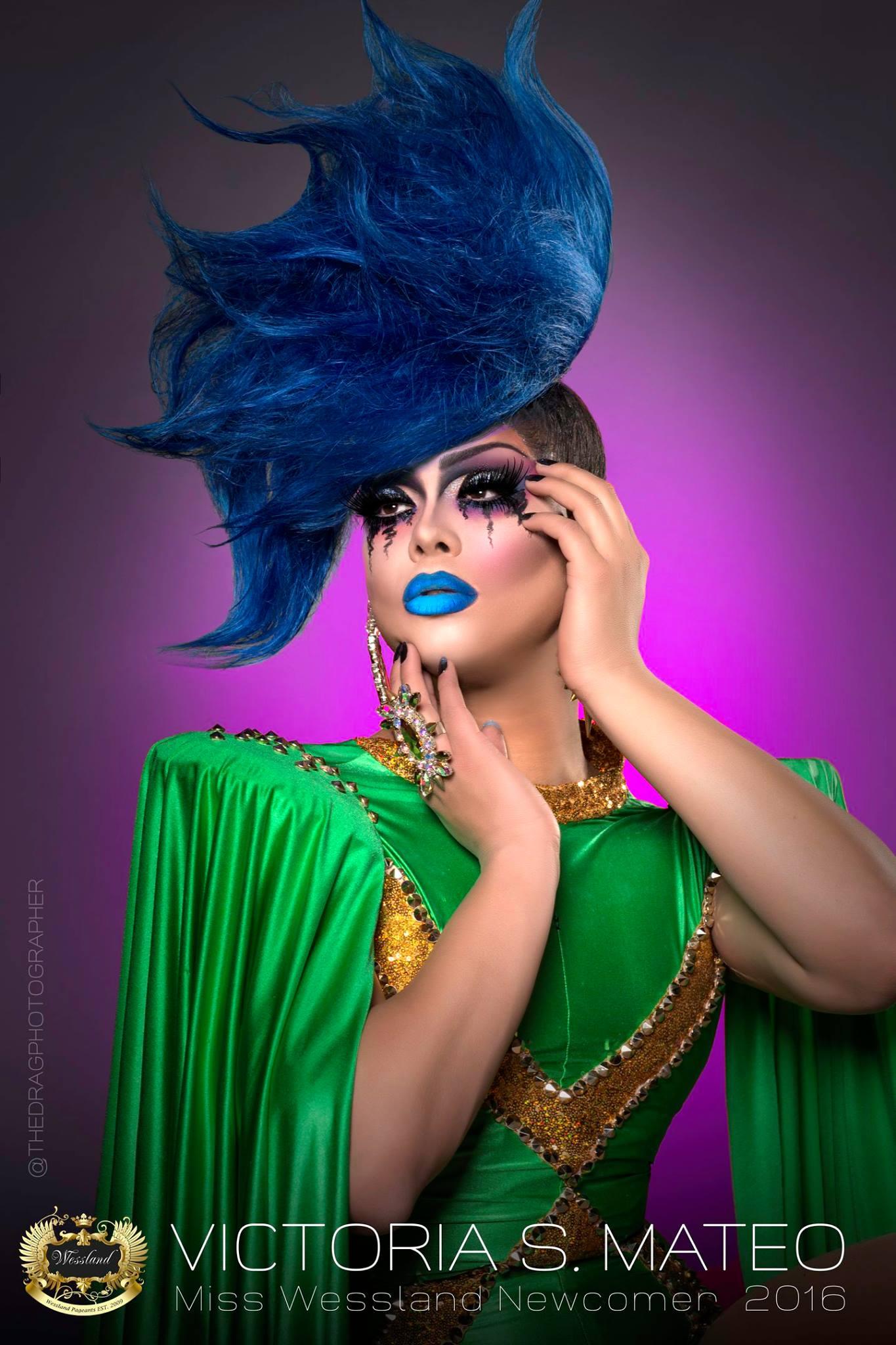 Victoria Mateo - Photo by the Drag Photographer