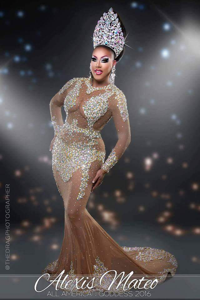Alexis Mateoa - Photo by The Drag Photographer