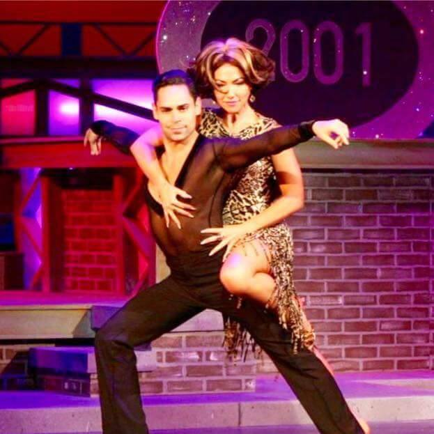 Charlton Alicea and dance partner