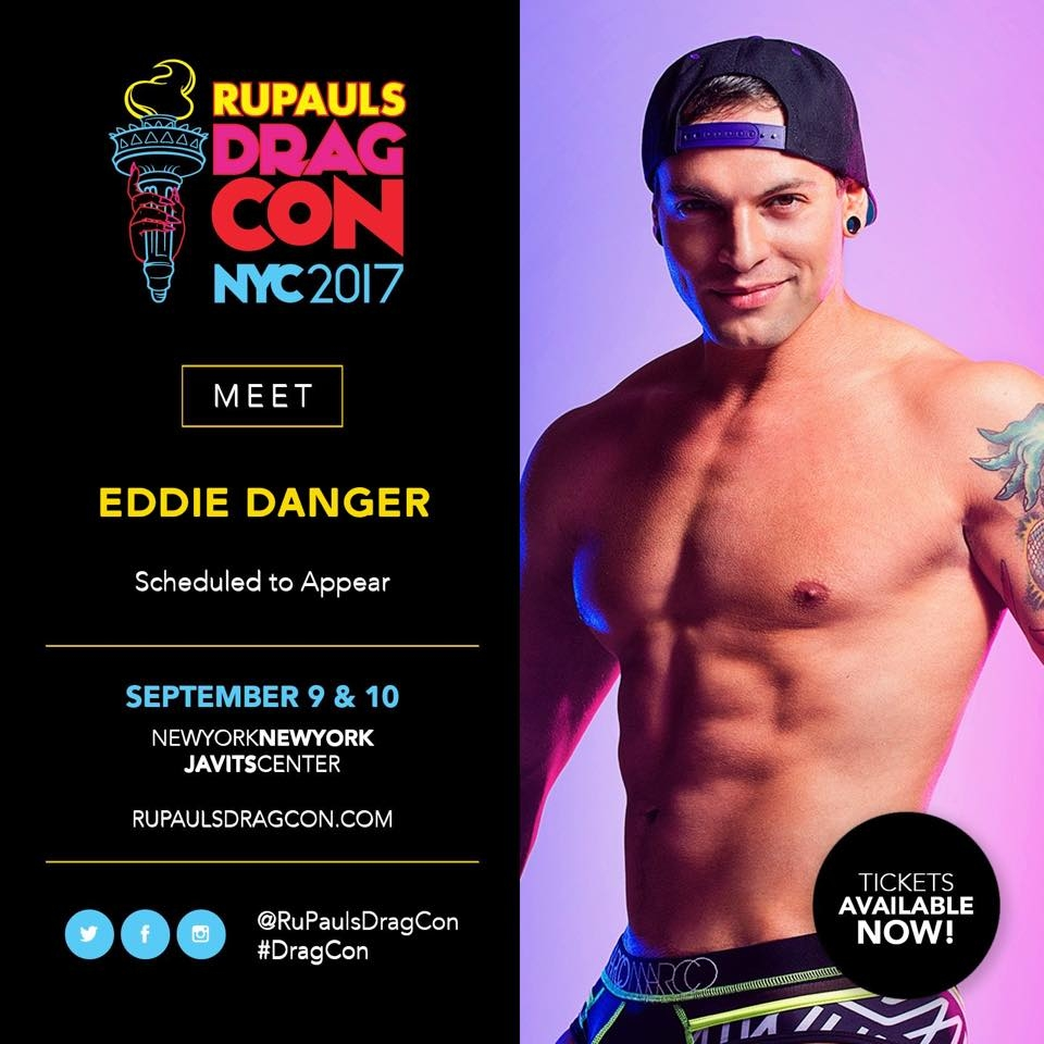 Show Ad | Rupauls Drag Con NYC 2017 | Javits Center (New York, New York) | 9/9-9/10/2017