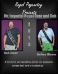 Mr. Imperial Regal Bear and Cub | Rok Stone and Kolten Moore