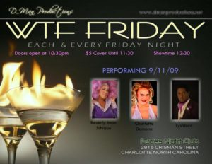 Show Ad | Faces Night Club (Charlotte, North Carolina) | 9/11/2009
