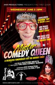 Show Ad | Mister Comedy Queen | Parliament House (Orlando, Florida) | 6/3/2015