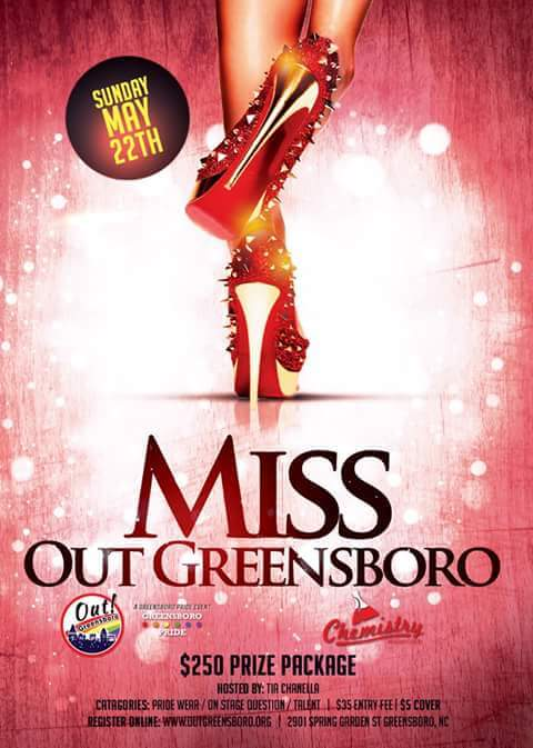 Show Ad | Miss Out Greensboro | Chemistry (Greensboro, North Carolina) | 5/22/2017