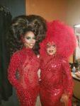 Aria B. Cassadine and Dorae Saunders