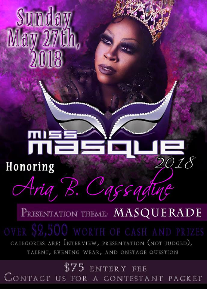 Show Ad | Miss Masque | Masque (Dayton, Ohio) | 5/27/2018