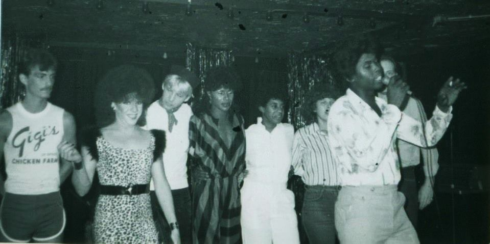 L to R: Tommy K (Tina Wells), Lady T Tempest, Johnny, Melba Moore, PJ, Jan Ward, Peter Taylor and William Geddy