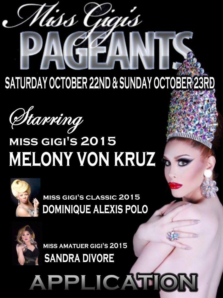 Show Ad | Miss Gigi's | Gigi's Cabaret (Detroit, Michgian) | 10/22-10/23/2016