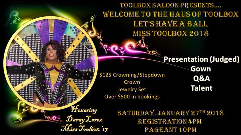 Show Ad   Toolbox Saloon (Columbus, Ohio)   1/27/2018
