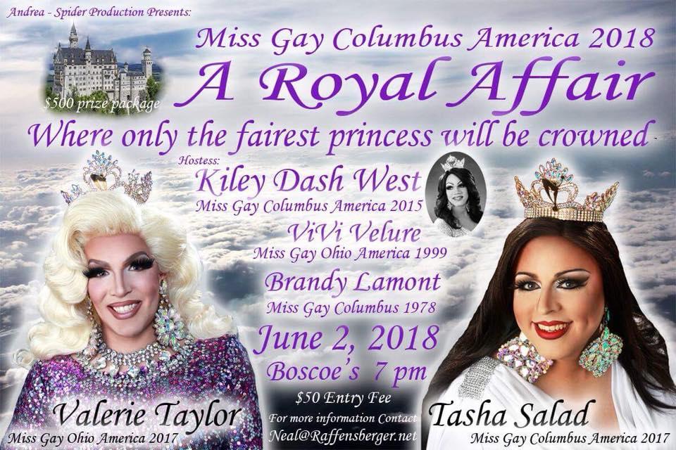 Show Ad | Miss Gay Columbus America | Boscoe's (Columbus, Ohio) | 6/2/2018