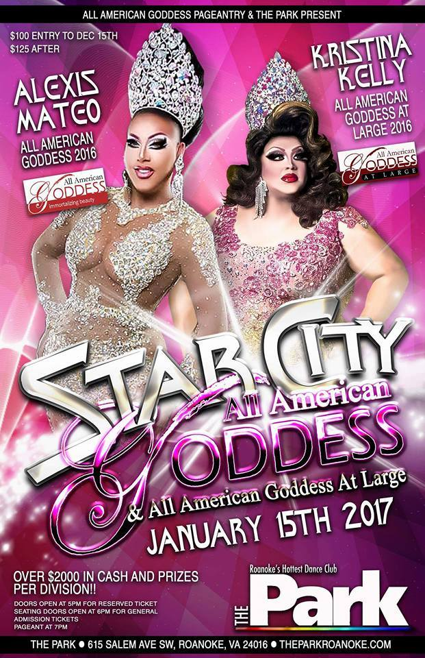 Show Ad | Star City All American Goddess and at Large | The Park (Roanoke, Virginia) | 1/15/2017