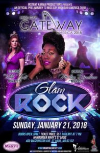 Show Ad | Miss Gay Gateway America | Hamburger Mary's (St. Louis, Missouri) | 1/21/2018