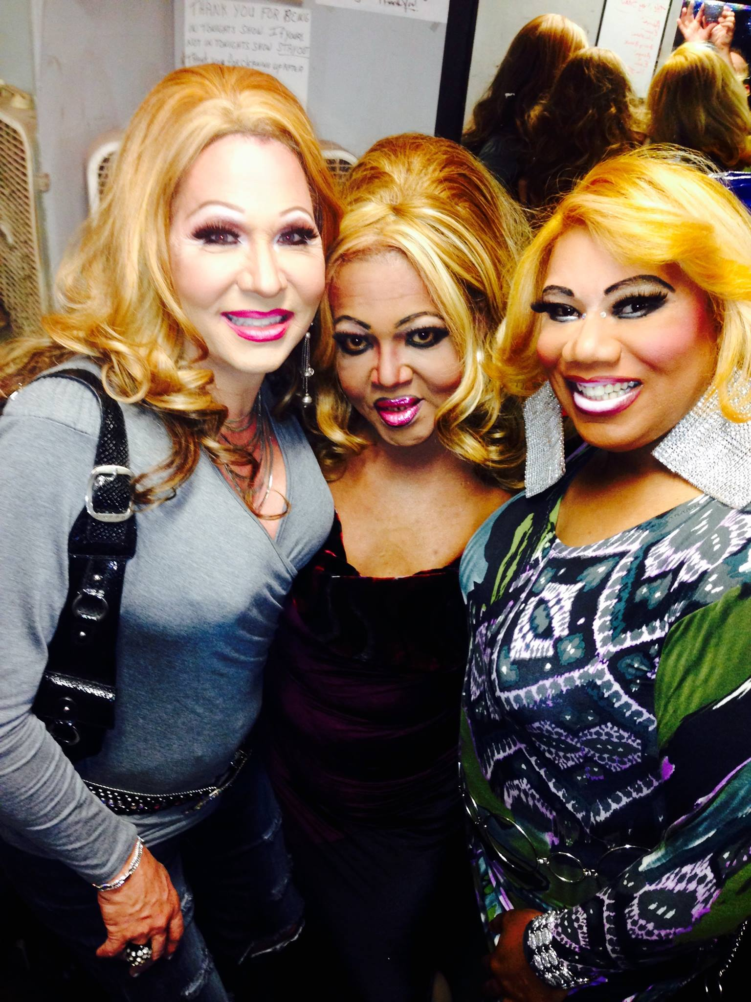 Sonya Ross, Georgia Jackson and Vee Love