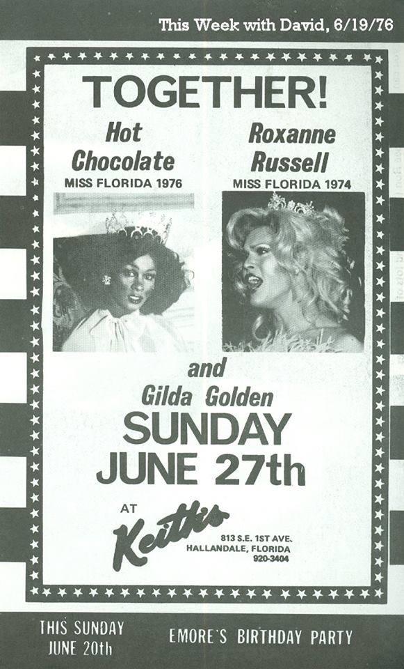 Show Ad | Keith's (Hallandale, Florida) | 6/27/1976