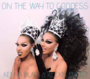 Kenya Black and Alexis Mateo