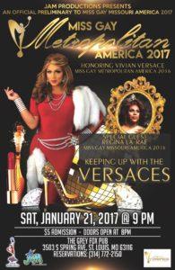 Show Ad   Miss Gay Metropolitan America   The Grey Fox Pub (St. Louis, Missouri)   1/21/2017