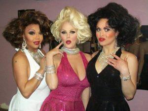 Maya Douglas, Mimi Marks and Sasha Colby