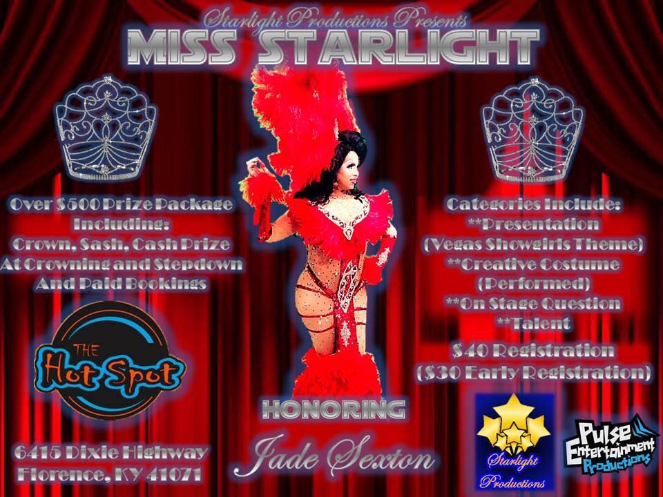 Show Ad | Miss Starlight (Florence, Kentucky) | 10/8/2017