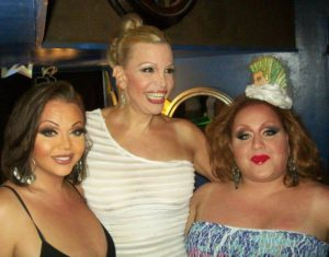 Maya Douglas, Barbra Herr and Mercedes Tyler