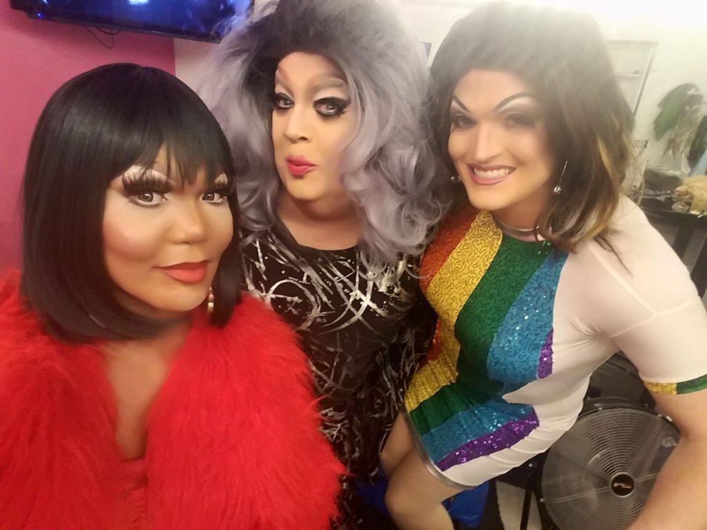 Bianca Debonair, Candi Panties and Sany Von Lipshitz