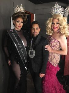 Cass Marie Domino, Charlton Alicea and Ginger Manchester