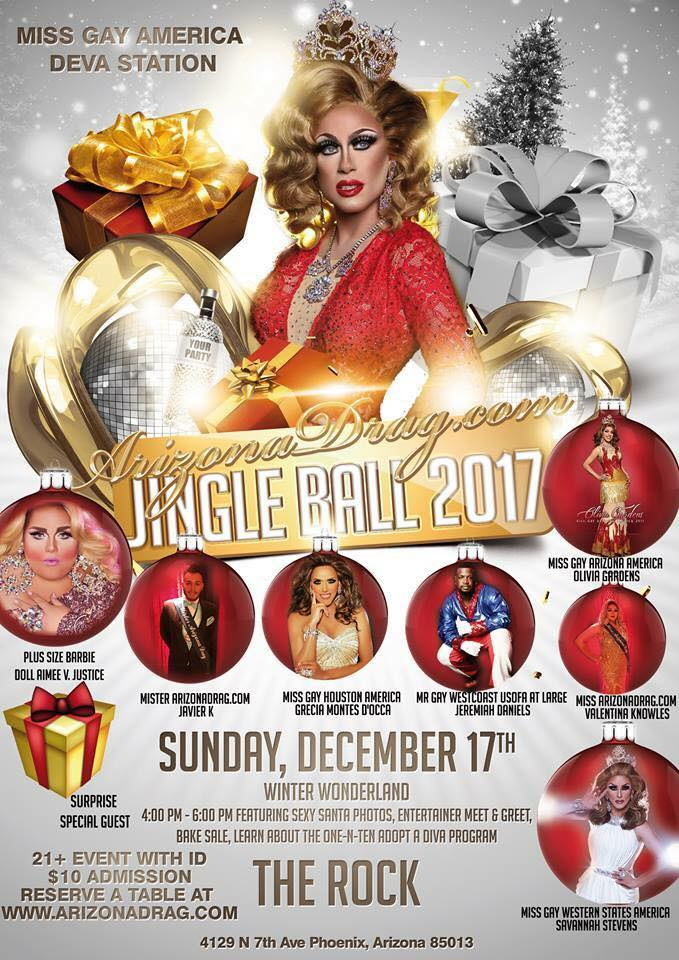 Show Ad | ArizonaDrag.com Jingle Ball 2017 | The Rock (Phoenix, Arizona) | 12/17/2017