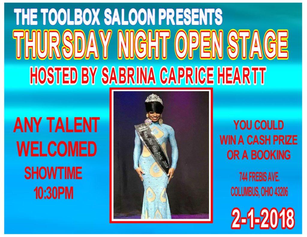 Show Ad | Toolbox Saloon (Columbus, Ohio) | 2/1/2018