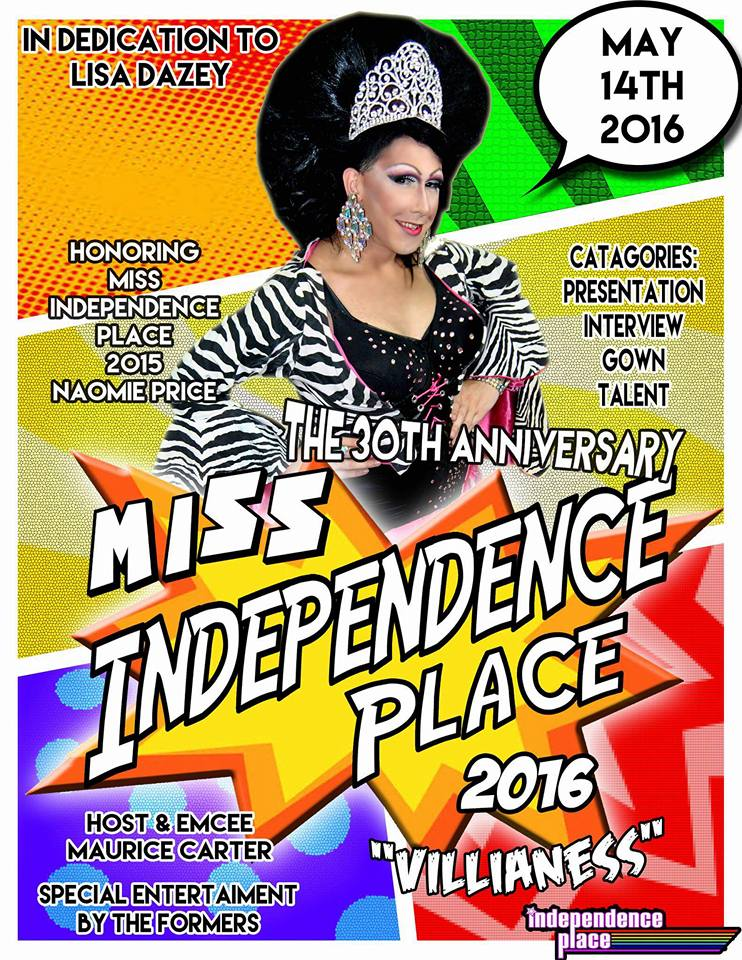 Show Ad | Miss Independence Place | Independence Place (Cape Girardeau, Missouri) | 5/14/2016