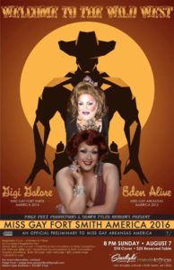 Show Ad   Miss Gay Fort Smith America   Starlight Movie Lounge (Fort Smith, Arkansas)   8/7/2016