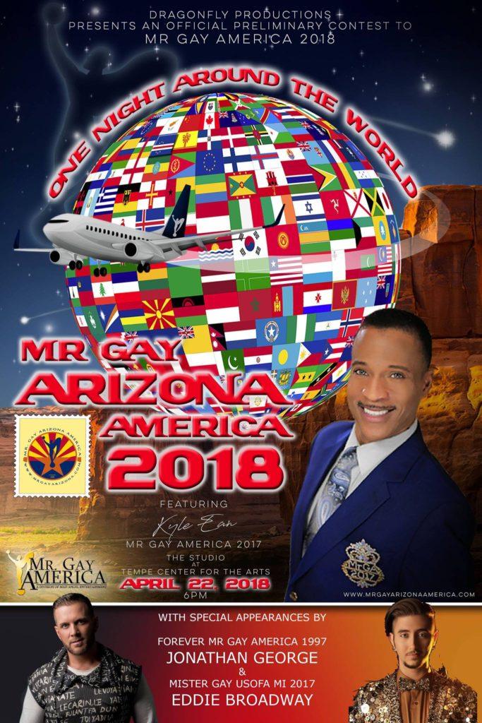 Show Ad | Mr. Gay Arizona America | The Studio at Tempe Center for the Arts (Tempe, Arizona) | 4/22/2018