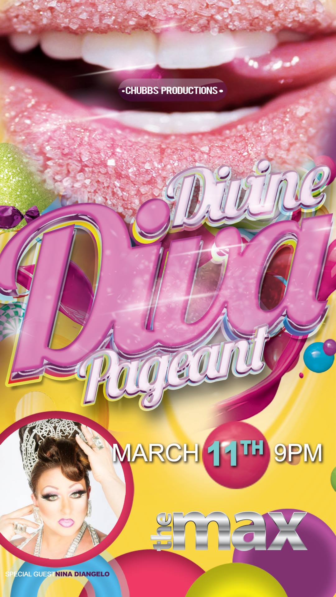 Show Ad | Divine Diva | The Max (Omaha, Nebraska) | 3/11/2018