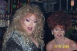 Sable Coate and Maxine Fisher   Blondie's Bar & Patio   10/16/2003