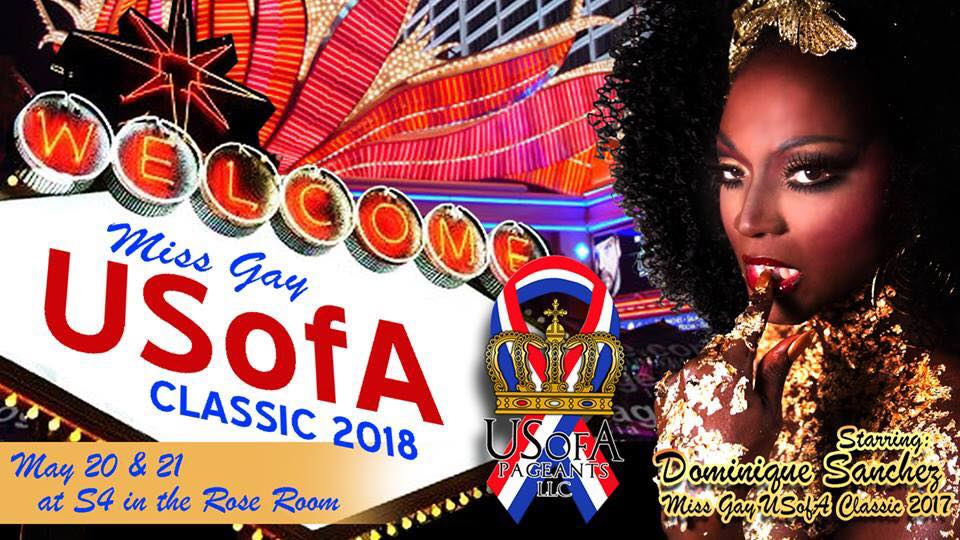 Show Ad | Miss Gay USofA Classic | S4 in the Rose Room (Dallas, Texas) | 5/20-5/21/2018