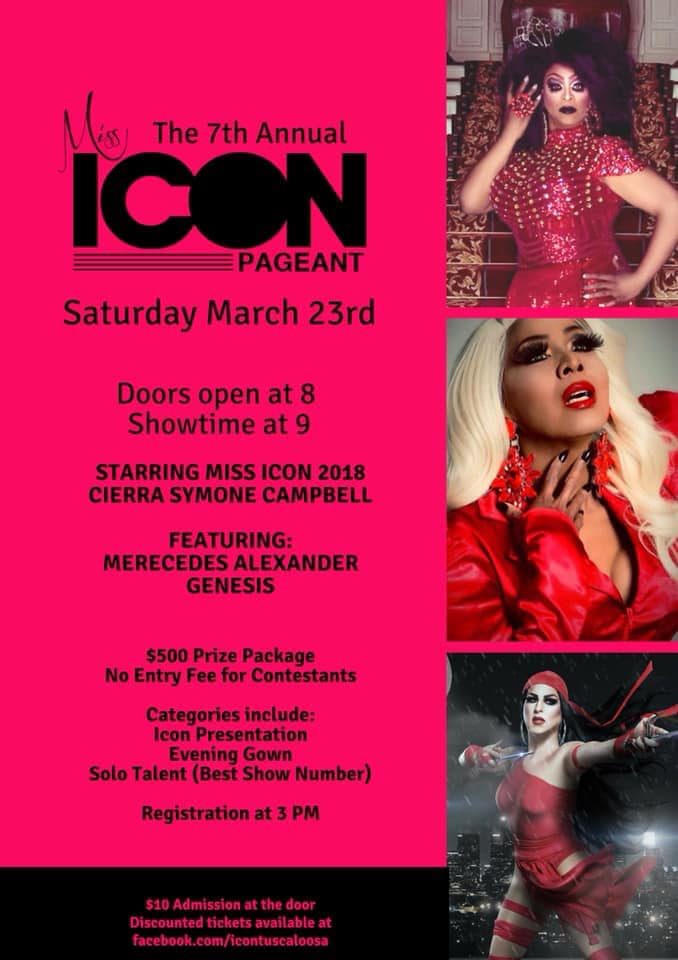 Ad | Miss Icon | Icon (Tuscaloosa, Alabama) | 3/23/2019