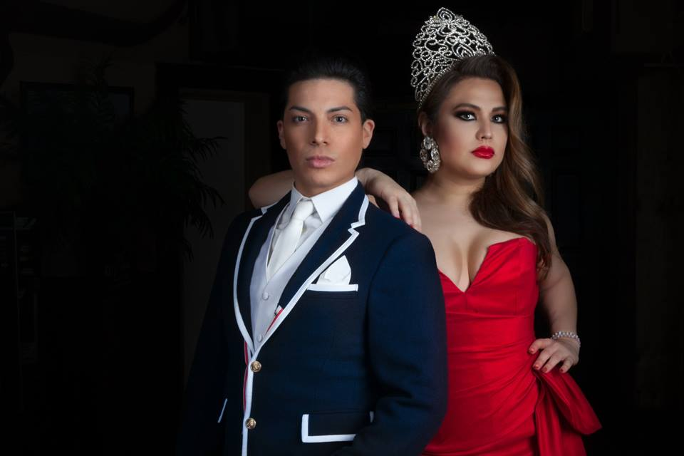 Xavi Mathews and Sasha Andrews, Mr. and Miss Texas Continental. Circa 2015.