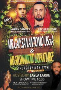 Show Ad | Mr. Gay San Antonio USofA and Mr. Gay San Antonio USofA at Large | Pegasus (San Antonio, Texas) | 5/17/2018
