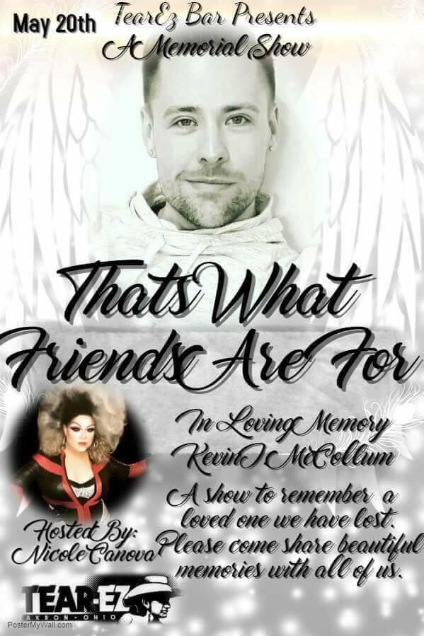 Ad   In Loving Memory of Kevin McCollum   Tear-Ez (Akron, Ohio)   5/20/2019